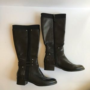 Franco Sarto | Candy Leather Riding Boot WIDE